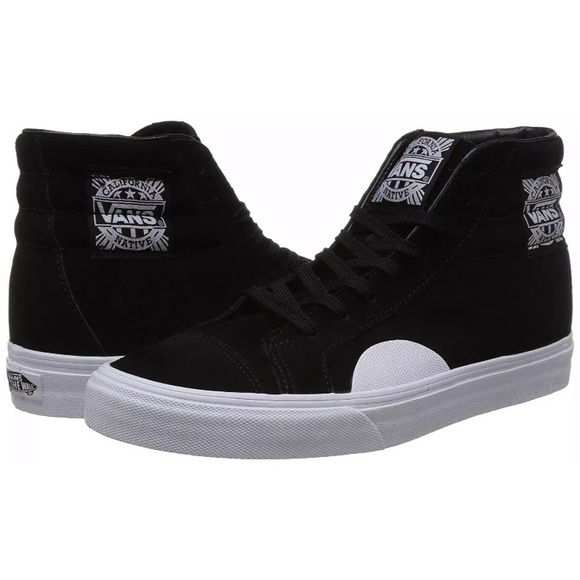 8271b814f010c9 Vans style 238 hi native black white sneaker shoes